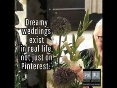 TJ Designer Weddings Dreams Wedding Designs, Real Life, Dream Wedding, Dreams, Weddings, Plants, Image, Wedding, Plant
