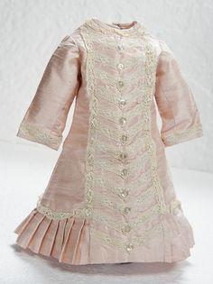 Pale Rose Fine Silk Princess Style Dress