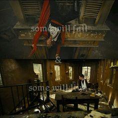 I cried when Enjorlas died in the movie.  :(