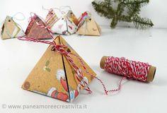Regali fai da te per Natale: una dolce scatolina con cioccolatino!