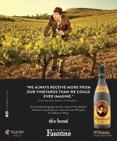 Faustino #wine #advertisement