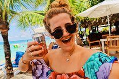 Diet Coke on a beach @ Mr Sanchos in Cozumel! The cutest one piece ever!!!! instagram: @amberleybradley