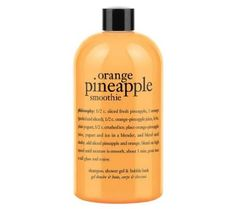 What is it: A multitasking, shower gel infused with the refreshing scent of an orange pineapple smoothie.Who is it for: All skin types. Page 1 Beauty Care, Beauty Skin, Beauty Makeup, Beauty Stuff, Philosophy Products, Smoothie, The Glow Up, Body Cleanser, Perfume
