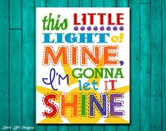 This little light of mine I'm gonna let it by LittleLifeDesigns