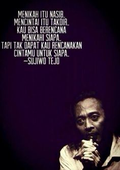 Sudjiwo Tedjo about love