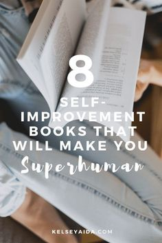 8 Self Improvement Books That Will Make You Superhuman. // self help books personal development, personal development books business, personal development books business reading lists, self help books, career books for women reading list Books For Self Improvement, Life Changing Books, Personal Development Books, Leadership Development, Inspirational Books, Motivational Books, Book Recommendations, Book Lists, Book Worms