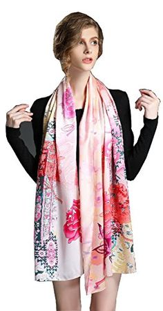 Spring Air Women 100% Silk Long Scarf 71X25.6 Inch 12 Mom... https://www.amazon.com/dp/B01EZNSWU2/ref=cm_sw_r_pi_dp_U_x_orGGAb1VYAJ2N