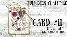 Deck Of Cards, Card Deck, Diy Playing Cards, Art Journal Techniques, Paper Crafts Origami, Artist Trading Cards, Alters, Masking Tape, Junk Journal