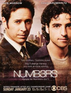Numbers. one of my favorite shows.