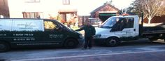 Our vans all suited and booted @ www.greenandcleanlandscapes.co.uk