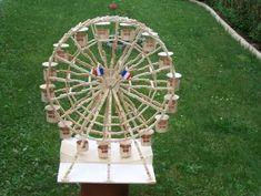 La grande roue en pinces à linges