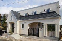 パリ郊外型注文住宅 イル・ド・フランス パリのストリートに佇む家 輸入住宅をお探しならトップメゾン   トップメゾン株式会社
