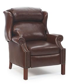 Kennedy Leather Recliner - Furniture - Macy's