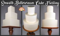 Strawberries and Cream Cake Filling Recipe - Wicked Goodies Cake Piping, Buttercream Frosting, Icing, Vanilla Buttercream, Chocolate Glaze Recipes, Cake Filling Recipes, Frosting Recipes, Piano Cakes, Cookies And Cream Cake