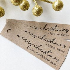 Shop us via the link and hit us with a follow on instagram @PartyWild15 to keep up with our latest! Tags: Kraft Brown. Favour Tags. Rustic. Custom. Christmas.