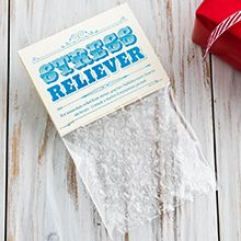 Stress reliever bubble wrap | Funny Christmas gifts | Tesco Living