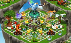 DragonVale Breeding Chart | All Dragonvale Parks