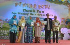Perpustakaan Bunga Bangsa: Lonching Buku Explore The World TK Islam Bunga Ban...