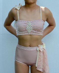 Custom Contemporary or Lyrical Dance Costume by gLAMbyAdora on Etsy
