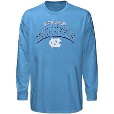 North Carolina Tar Heels (UNC) Archibald Long Sleeve T-Shirt - Carolina Blue