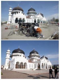 Kondisi Aceh Saat Tsunami dan Sekarang