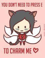 Ahri: LoL Valentine's Day by Jaunea