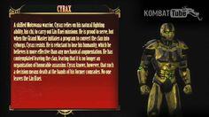 MK9 Bio: CYRAX