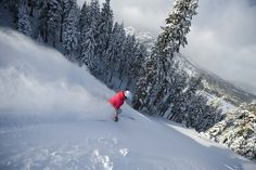 Another favorite ski resort...Squaw Valley.