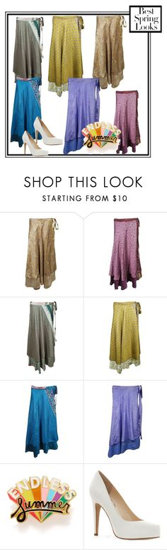 """Summer Trendy Long wrap Skirts"" by globaltrendzs-flipkart ❤ liked on Polyvore featuring ban.do, Jessica Simpson and H&M"