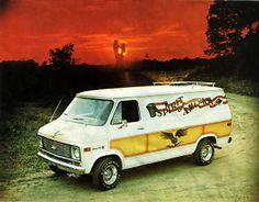 spirit of america 1970s custom van ad