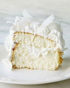 Coconut Cloud Cake - Oh So Shabby by Debbie   (Easy challenge, would be GFCF with the premium flour)