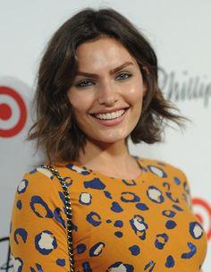 Alyssa Miller Short Haircut - 2014 Popular Bob Hairstyle for Women