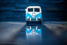 Rainy Days by Kim Leuenberger. Micro Photography, Miniature Photography, Toys Photography, Still Life Photography, Photography Ideas, Mini Things, Cute Little Things, Miniature Cars, Metal Models