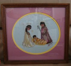 Indian Cross Stitch | Indian nativity | Cross stitch patterns