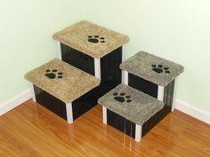 Nice Handmade Doggy Stairs Custom Cat Stairs Pet By HamptonBayPetSteps |  Pinterest Handmade Shopping Mall | Pinterest | Cat Stairs, Dog Stairs And Dog  Steps