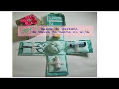 Caixa de lanches - Cartonagem - Artesanato - Passo a passo - YouTube