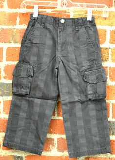 $5 For DESIGNER Boys Pants at One Good Thread, through Memorial Day Weekend. (http://www.onegoodthread.com/da-lil-guys-baby-nay-boys-plaid-cargo-pants-charcoal/)