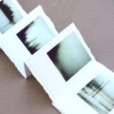 Limited edition fine-art accordion book of 12 WHP photographs (Canmore Land 2007)