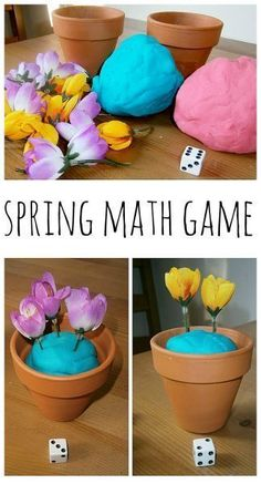 Spring Counting Game! ~Variations, Explains what is being Learned~ Great for 1 to 1 correspondence and numeral recognition!!