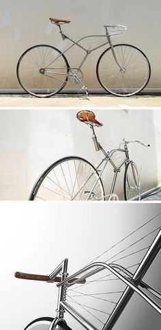 This stunning roadster bike looks to the sky for avian inspiration! It's called the Wing Cycle and its frame veers from the traditional diamond shape, instead adopting the form of a bird wing structure. This includes a mesmerizing cable wire design that supports the seat. Furthermore, the cable rope system can be adjusted to change the position of the seat for different riding modes.