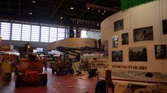 Le Salon du livre de Paris 2014 en plein montage ! RDV du 21 au 24 mars à Porte de Versailles, Paris
