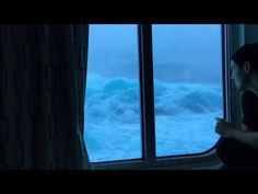 Anthem Of The Seas Vs Huge Waves And 120 MPH Winds. Viewed From My Room On The Third Deck. NO MUSIC! - YouTube
