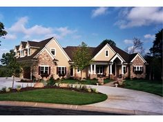 023H-0086: Luxurious Craftsman European House Plan