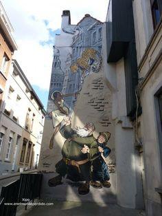 Ruta del Cómic de Bruselas