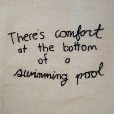 swimming pool // the front bottoms