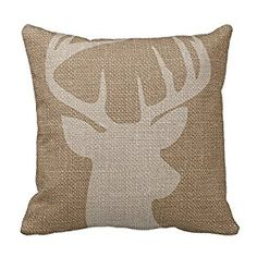 Amazon.com: 1818 inches Home Deer Decorative Throw Pillow Cover Cushion Case: Home & Kitchen