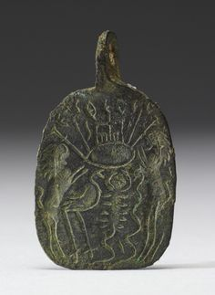 Amuletic Pendant, Byzantine 5th-6th century. The Walters Art Museum.