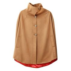 Cape with collar (similar to vogue pattern)