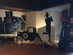 Gatsby party decor