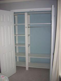 closet shelving diy i so need to do this to a few of my closets rh pinterest com bedroom closet shelf height bedroom closet shelf height